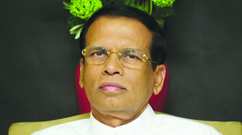Maithripala Sirisena summoned an emergency meeting of his cabinet on Friday night to oppose the Parliamentary Select Committee (PSC) probing the April 21 attacks that killed 258 people and wounded nearly 500. (Photo: File)