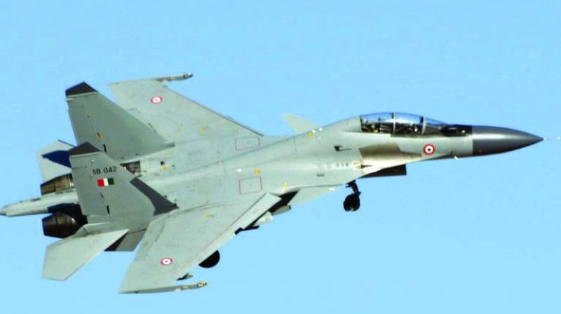 IAF said that in the morning of February 27, Indian Air Defence system was on full alert.