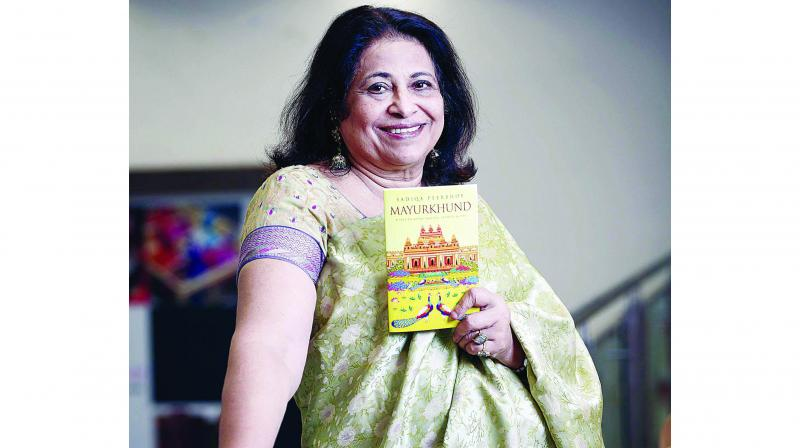 The author has published six books — among them are Marry go Round and House of Discord.