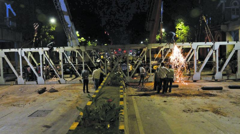 The BMC's preliminary report found the structural audit had major lapses (Photo: SHRIPAD NAIK)