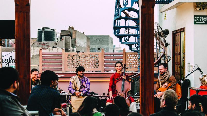 A SofarSounds gig. (Photo: Aryaman Dixit)