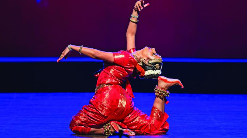 Dance comes as naturally to Yamini Reddy as swimming to a fish. She is a multi-faceted personality, endowed with a sculpted figure, a perfect face and scintillating grace.