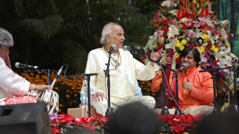 He is known to have revived  the Haveli Sangeet, in which performances are held in temples and compositions are sung to invoke Lord Krishna.