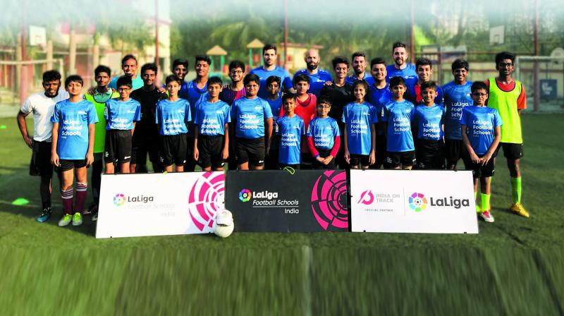 To ensure long-lasting impact, LaLiga will also organise a Train the Trainer Programme in New Delhi from April 13-15.