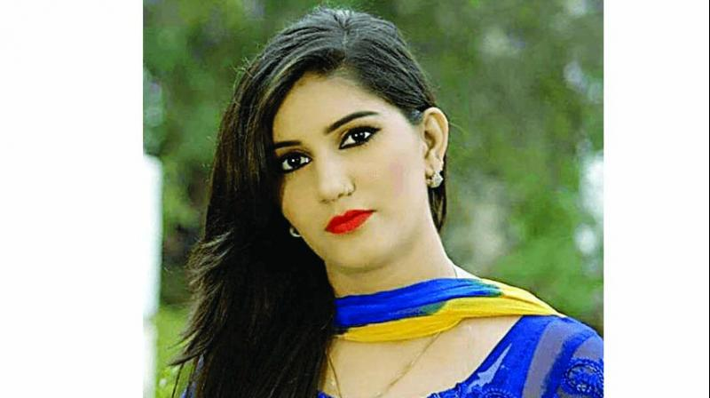 Singer Sapna Chaudhary, who joined the BJP in Haryana recently, campaigned for a rival candidate Gopal Kanda for the assembly election, leaving her party red-faced. (Photo: File)