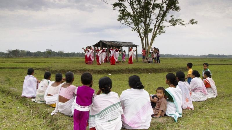 In Dibrugarh's Moran district, the first all-girl Husori Troup is stealing the limelight. (Photo: Representational/Pixabay)