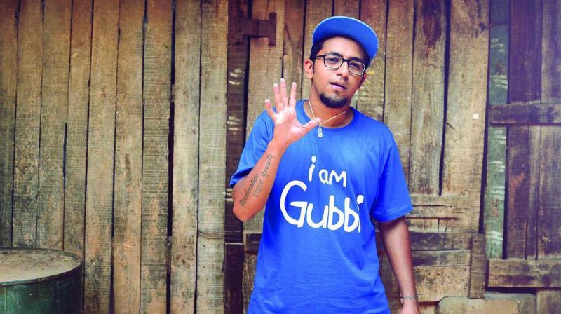 Rapper Karthik Sundar Gubbi