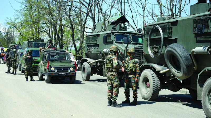 All the same, Indian security forces have never used inordinate firepower, aircraft, tanks or artillery to suppress the insurgency.  (Photo: PTI)