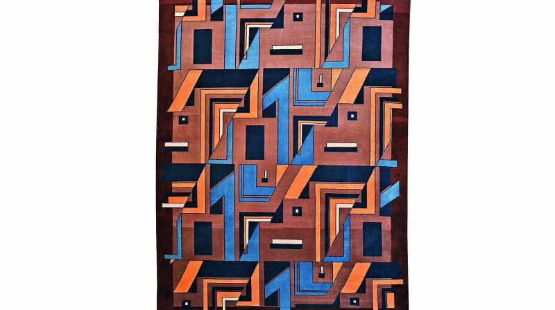 Rugs are usually believed to visually quieten a room or turn up the volume as needed.