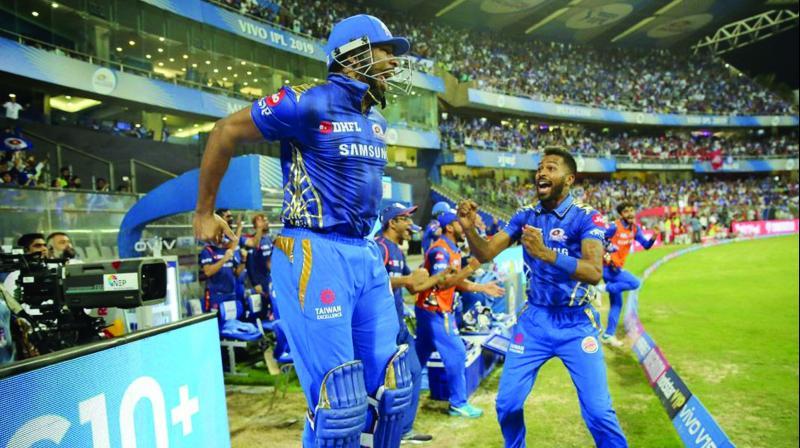 IPL 2019: Mumbai captain Kieron Pollard sends Punjab packing in a thriller
