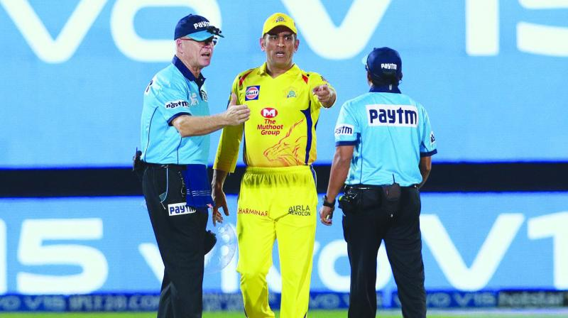 This was totally out of character as Dhoni has earned the sobriquet 'Captain Cool' precisely for his ability to keep his emotions in check under the most daunting and provocative situations.