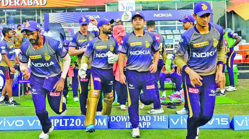 Kolkata Knight Riders have suffered five consecutive defeats.