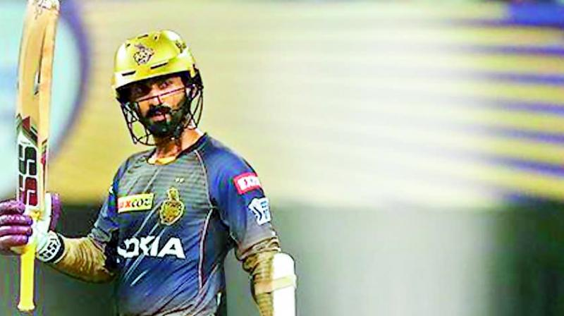 KKR snapped a six-match losing streak with a 34-run win over Mumbai Indians at the Eden Gardens Sunday, days after questions were raised about Andre Russell's batting position, with the West Indian power-hitter himself expressing a desire to bat higher at No. 4. (Photo: BCCI)