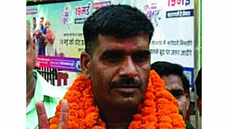 Former BSF constable and JJP member Tej Bahadur Yadav. (Photo: File)