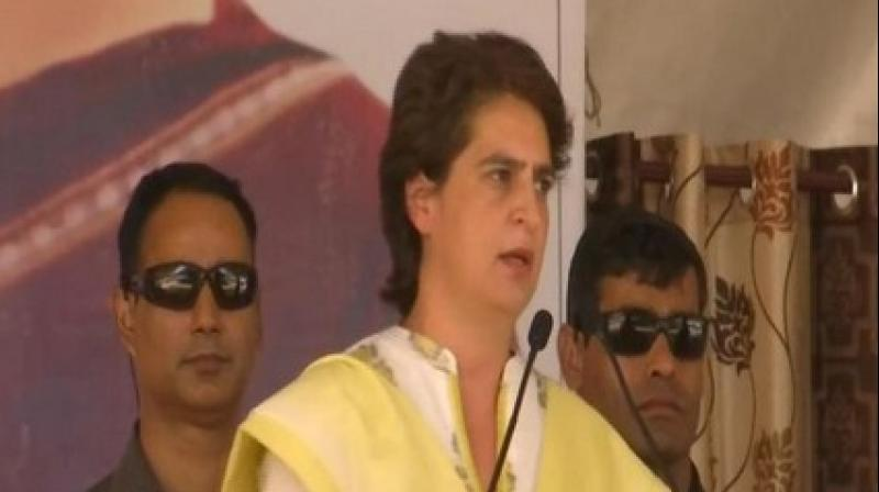 'Congress General Secretary Priyanka Gandhi (Vadra), who was on stage had neither prevented Soren from making the controversial speech nor condemned it publicly,' a statement said. (Photo: File)