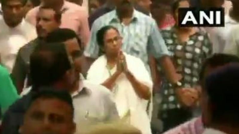 Trinamool Congress Chief and West Bengal Chief Minister Mamata Banerjee (Photo: ANI twitter)