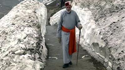 Image result for modi in kedarnath