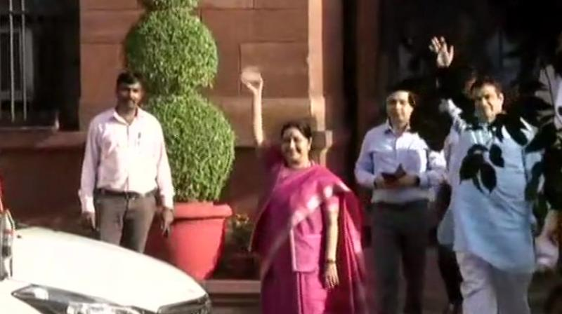 The Election Commission will then issue a formal notification constituting the new House. (Photo: Ani twitter)