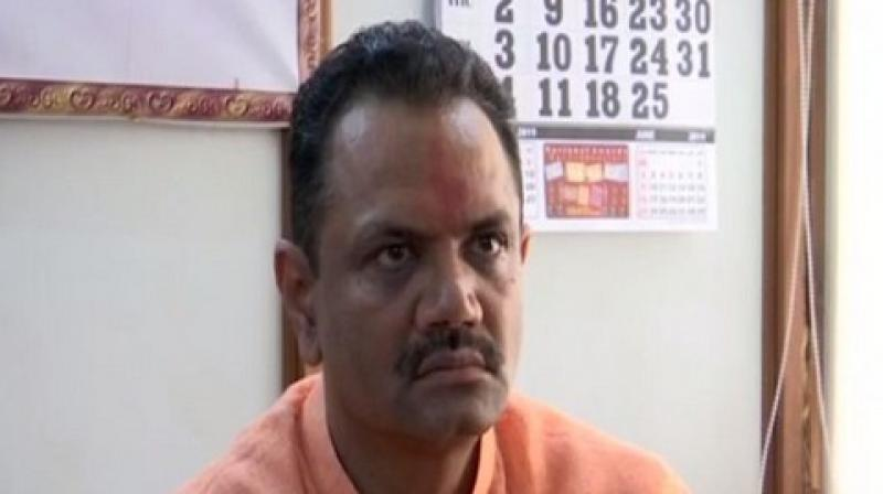 BJP's Gujarat unit president Jitu Vaghani   (Photo: ANI twitter)