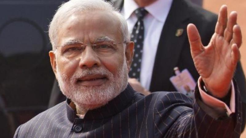 PM Modi is scheduled to hold a five-kilometre-long roadshow in the constituency after his arrival here. (Photo: File)