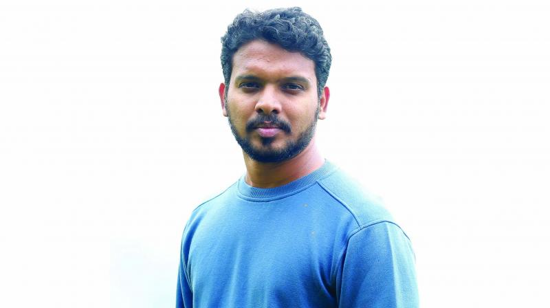 Everything about this Kochi-based singer-composer is unassuming, just like his songs.