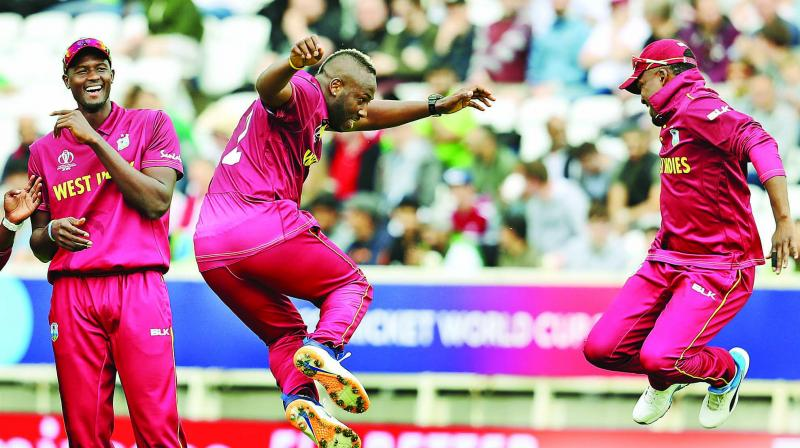 Two-time champions West Indies posted 321-8 at Taunton but Bangladesh chased down the target with 8.3 overs to spare to clinch the high-scoring contest. (Photo: AP)