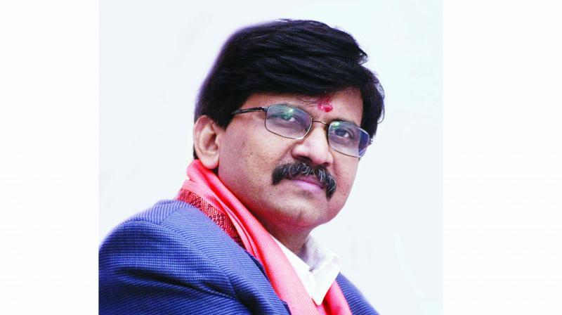 Shiv Sena's Rajya Sabha MP Sanjay Raut