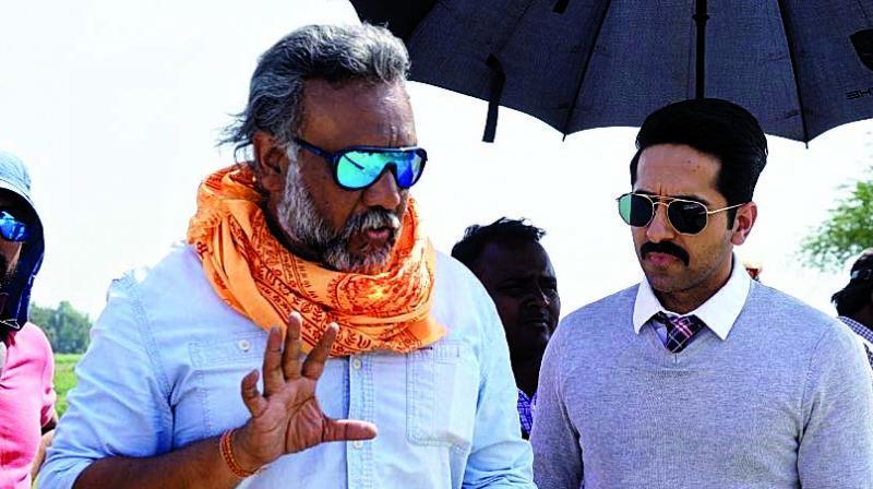 Anubhav Sinha and Ayushmann Khurrana.