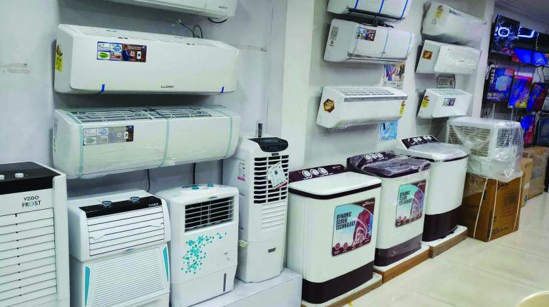 In January 2018, after the table change for fixed speed ACs and variable speed ACs, the prices of air-conditioners had gone up by 15 per cent.