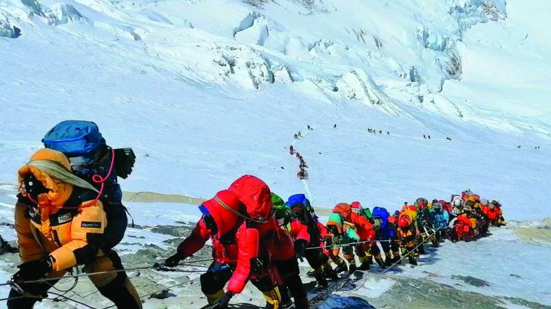 One also needs to take note of the mental aspects of mountaineering which only a seasoned mountaineer can prepare a novice climber for.