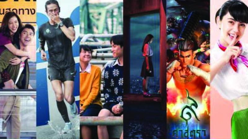 The films that were screened at the film festival.