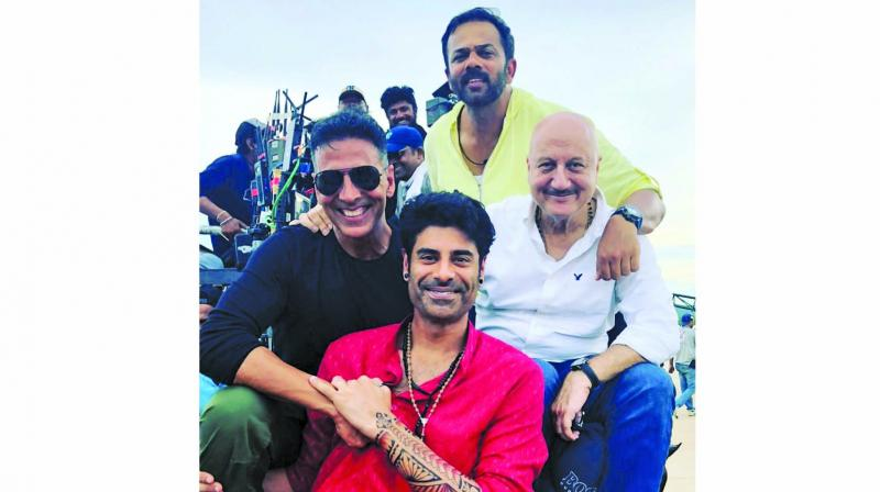 Sikander will soon be seen in Sooryavanshi alongside Akshay Kumar, and Anupam Kher is more than happy to see him growing.