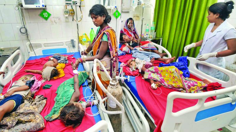 The recent tragedy in Bihar, in which 162 children died due to acute encephalitis syndrome (AES), is the result of a combination of circumstances — poverty, illiteracy, malnourishment and a dysfunctional system for public healthcare.