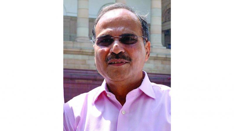Leader of Congress in the Lok Sabha Adhir Ranjan Chowdhury.