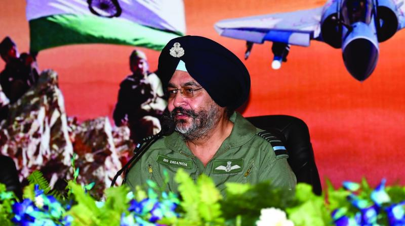 IAF Chief Birender Singh Dhanoa. (Photo: PTI)