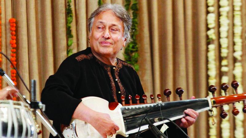 Ustad Amjad Ali Khan. (Photo: AP)