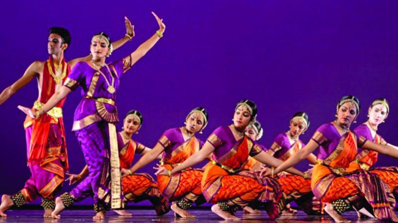 The Chicago-based Natya dance theatre.