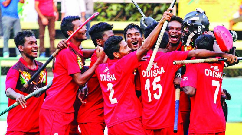 Odisha were crowned as the champions in the Under-21 men's hockey competition of the Khelo India Games.