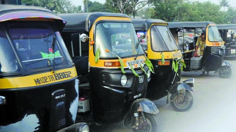 A drunk autorickshaw driver was fined Rs 47,500 by the transport department on Wednesday for driving without a valid permit, licence, registration and under various sections of the amended Motor Vehicles Act which came into effect on Sunday, an official said in Bhubaneswar. (Representational Image)