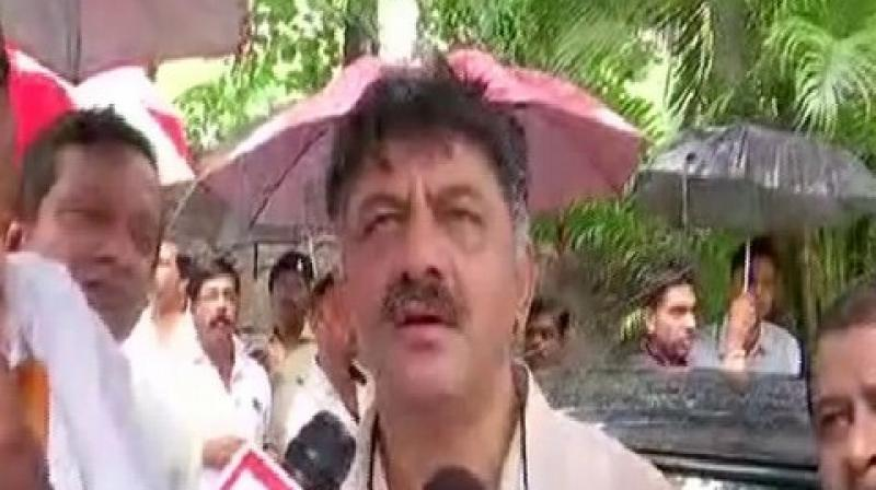 After the resignations of two Congress MLAs- T Sukumar and MTB Nagraj on Wednesday, the total number of resignations touched 17. (Photo: ANI)