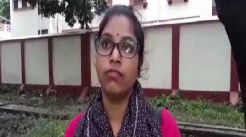 The girl had also written a letter to Vice-Chancellor and proctor of the university seeking justice. (Photo: ANI)