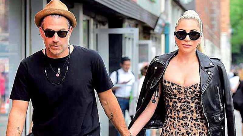 Christian Carino with Lady Gaga