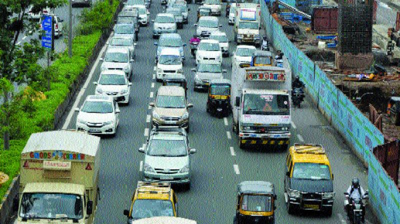 The step has been taken after a change in Indian Roads Congress (IRC) standards. (Photo: Asian Age)