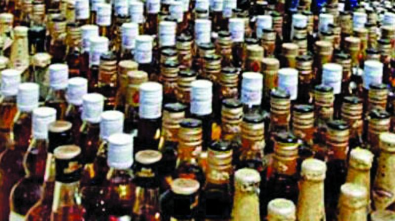 During interrogation, the accused, identified as Manoj and Murli, revealed that they were using the ambulance to smuggle liquor for the last few months. (Photo: Representational/File)