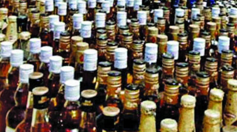 The department caught liquor worth Rs 4.69 crore while last year the department had seized liquor worth Rs 3.62 crore.