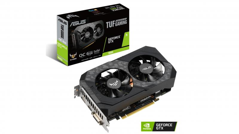 The TUF Gaming GeForce GTX 1660 targets gamers that prefer a longer upgrade cycle.