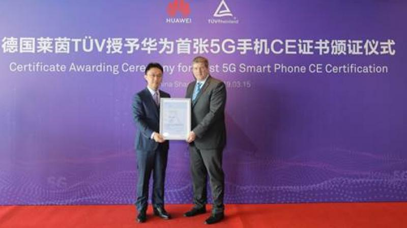TÜV Rheinland is responsible for the whole process of CE certification of Huawei 5G smartphones.
