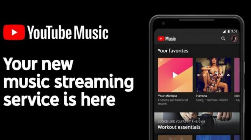 The device files can't be queued up or played with YouTube Music playlists.