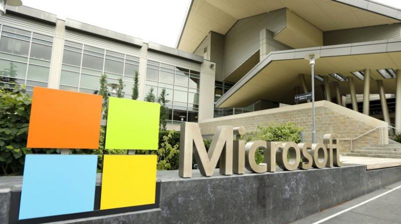 Microsoft's profit in the fiscal fourth quarter that ended June 30 was helped by at USD 2.6 billion tax benefit.