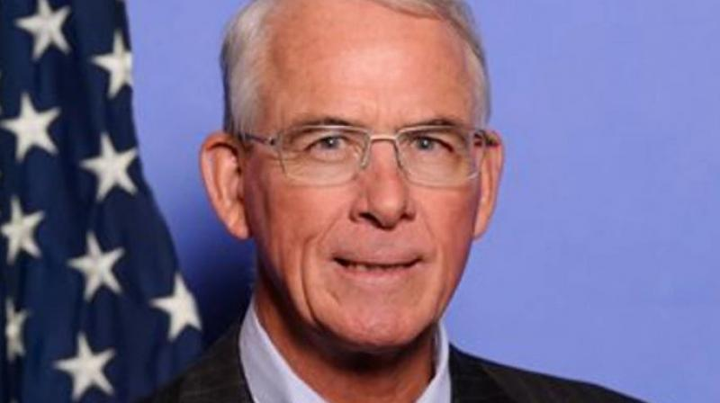 Francis Rooney is the third American lawmaker in recent days to make a statement favourable to India after Congressmen George Holding and Pete Olson. (Twitter/ Francis Rooney )